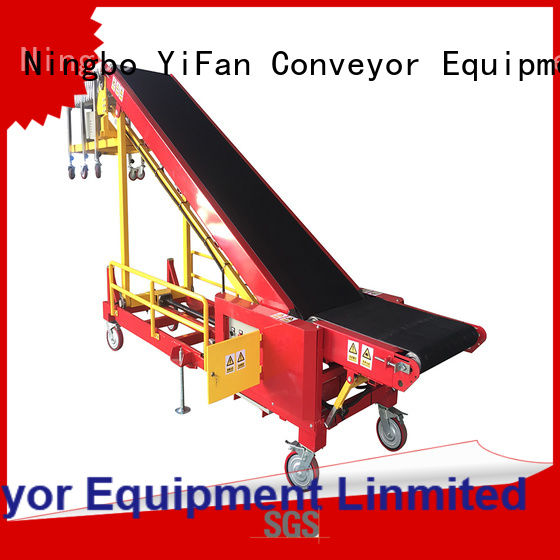 buy truck loading unloading conveyor foldable company for airport
