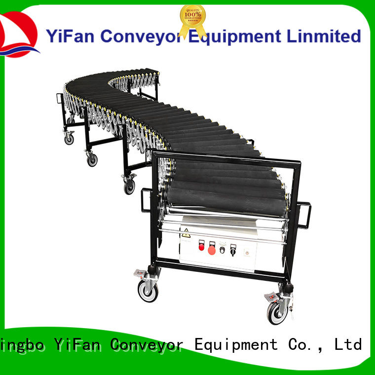YiFan coated powered flexible conveyor factory for dock