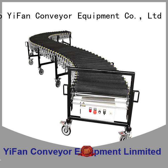 YiFan flexible conveyor system quick transaction for dock