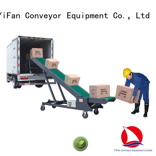 good truck loading conveyors container chinese manufacturer for factory
