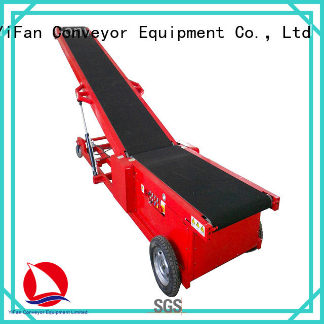 Professional truck unloader conveyor auto manufacturer for airport