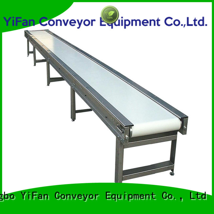 YiFan inclined conveyor belt suppliers purchase online for packaging machine