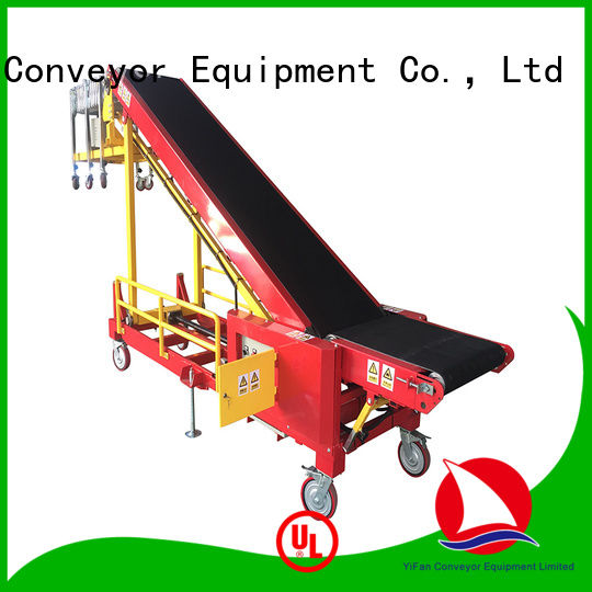 YiFan portable conveyor system China supplier for warehouse