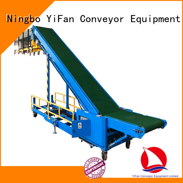 buy truck loading conveyor foldable China supplier for warehouse