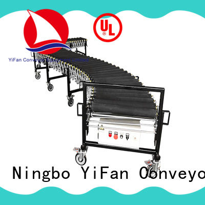 YiFan powered flexible conveyor factory for warehouse