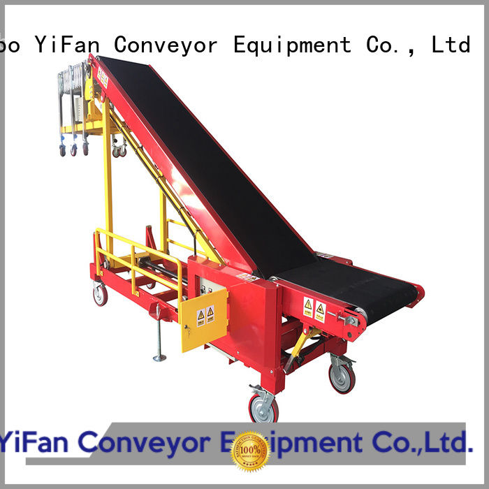 good truck unloading conveyor portable China supplier for dock