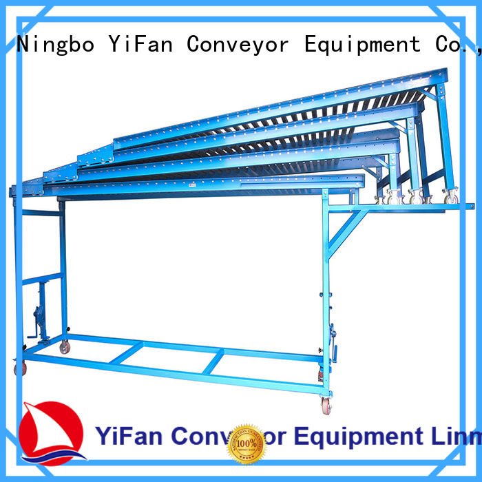 YiFan 2019 most popular folding conveyor request for quote for workshop