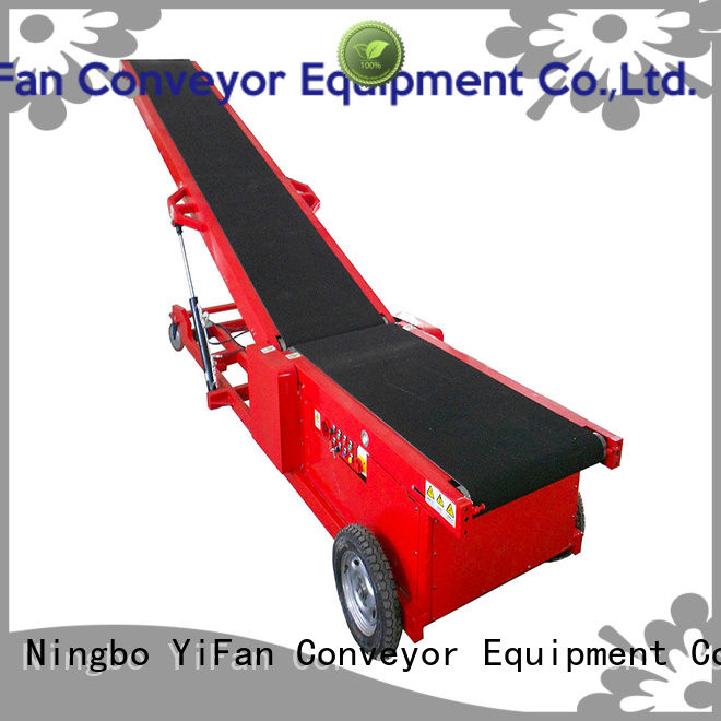 buy truck loading belt conveyor 20ft company for factory