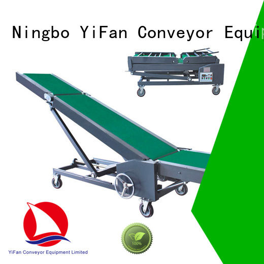 YiFan good truck loading conveyor systems company for warehouse