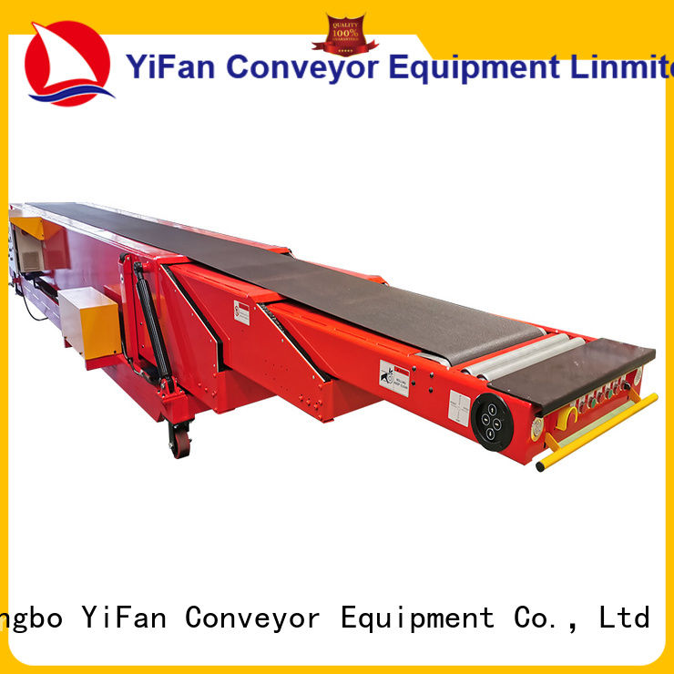 YiFan wholesale cheap telescopic conveyor competitive price for food factory