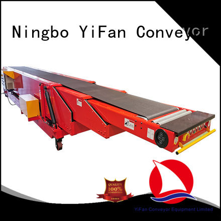 YiFan 40ft conveyor belt system with bottom price for seaport