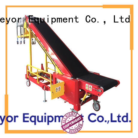 van conveyor system company for factory YiFan