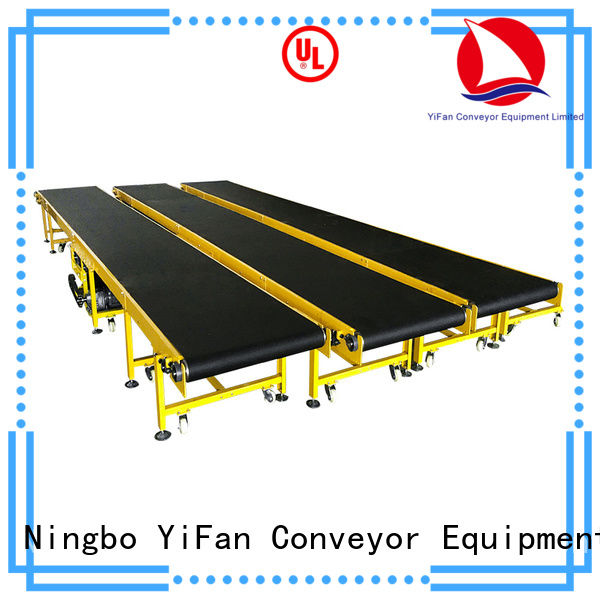 YiFan most popular rubber conveyor belt manufacturers for daily chemical industry