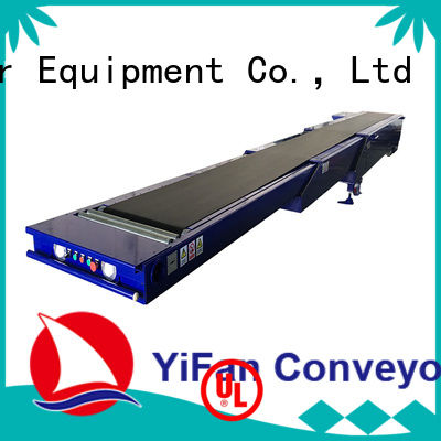 YiFan system telescopic conveyor with bottom price for food factory
