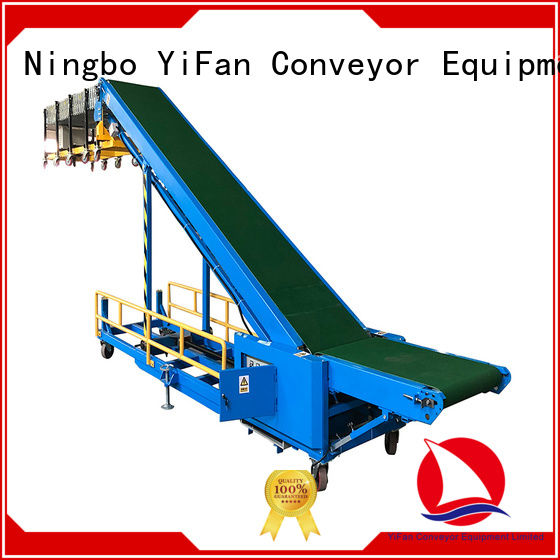 YiFan 20ft truck loading unloading conveyor online for airport
