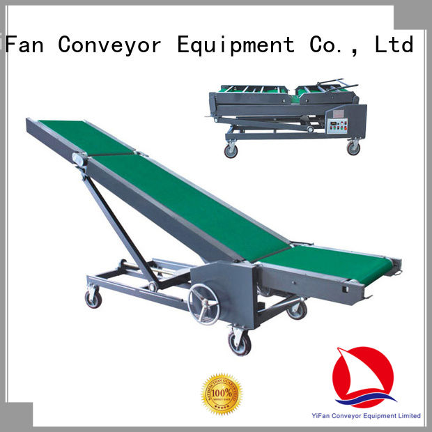 YiFan 2019 new conveyor systems manufacturers online for dock