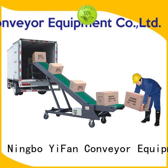 YiFan truck truck loading unloading conveyor online for dock