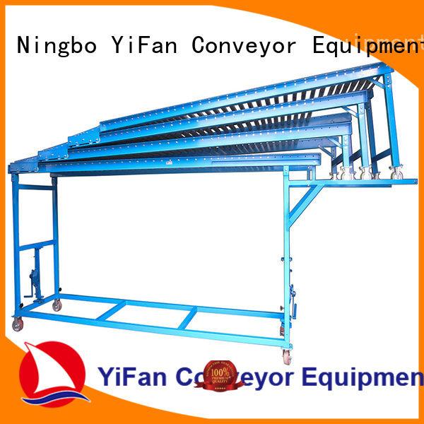 factory price powered roller conveyor telescopic export worldwide for seaport