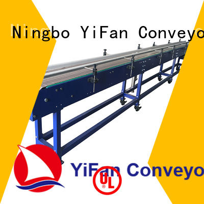 YiFan plastic slat chain conveyor manufacturers online for medicine industry