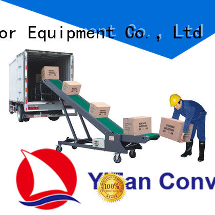 YiFan conveyor truck unloading China supplier for dock