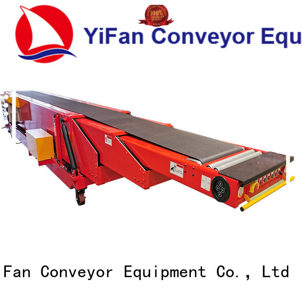 YiFan high performance unloading conveyor widely use for harbor