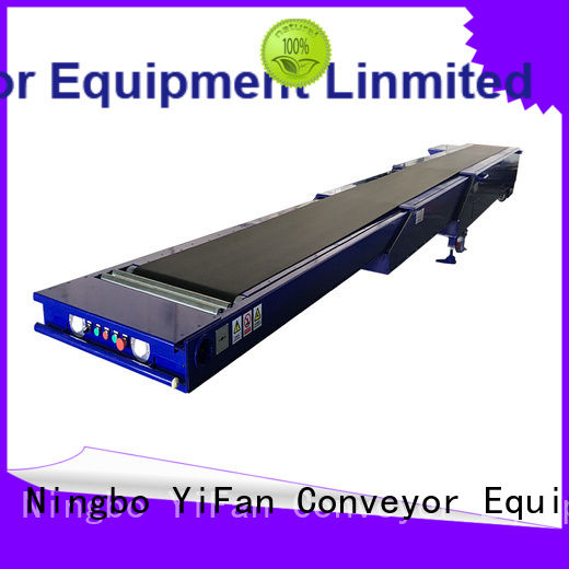 YiFan excellent quality transport conveyor widely use for warehouse