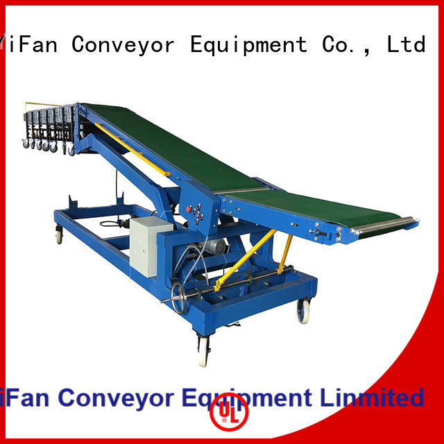 YiFan vehicle loading conveyor chinese manufacturer for airport