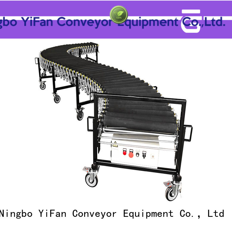 YiFan roller flexible conveyor system request for quote for warehouse