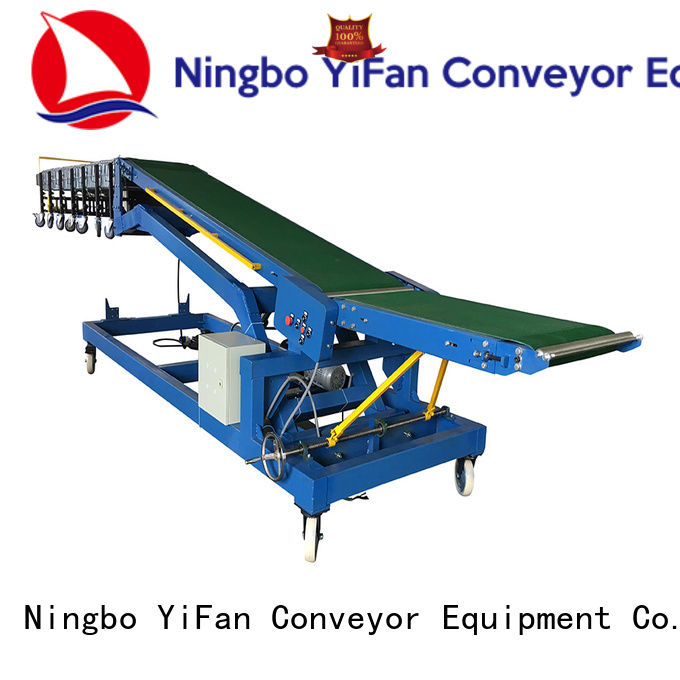 YiFan hot recommended truck loading belt conveyor company for dock