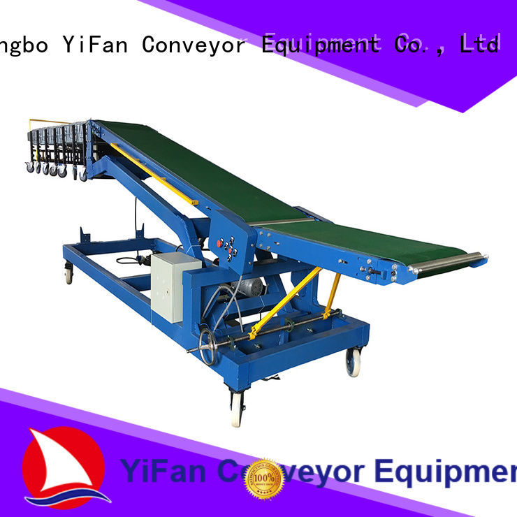 YiFan vehicle truck loading conveyor manufacturer for airport