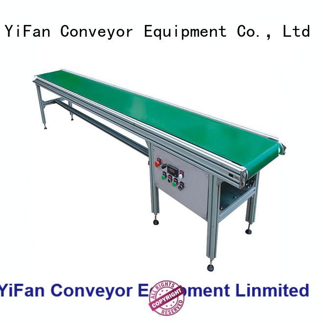 YiFan modular conveyor system awarded supplier for logistics filed