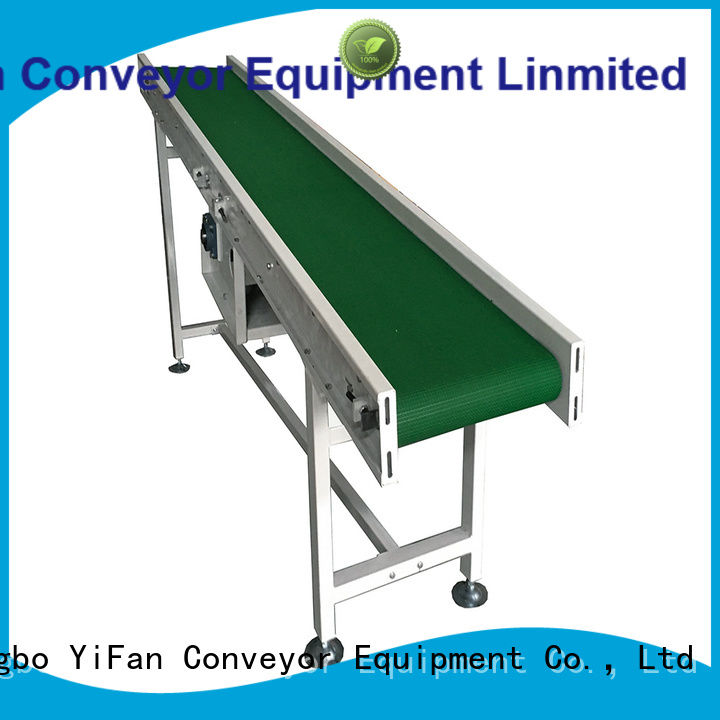 YiFan belt conveyor system with bottom price for daily chemical industry