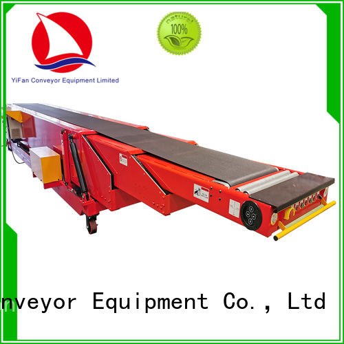 YiFan wholesale cheap conveyor belt system widely use for storehouse