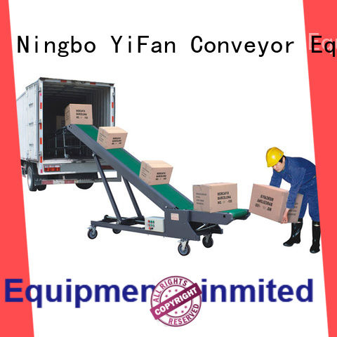 YiFan economic truck loading conveyor online for airport