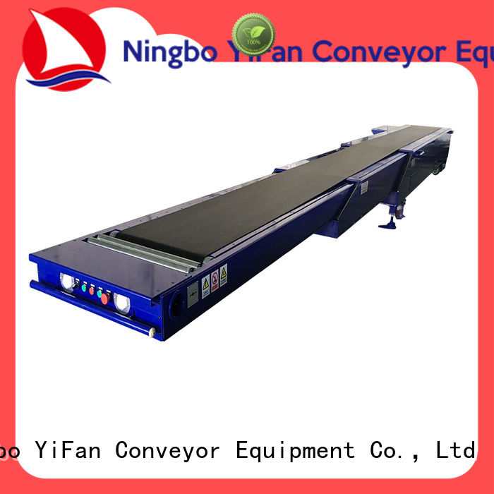 YiFan best telescopic belt conveyors competitive price for dock