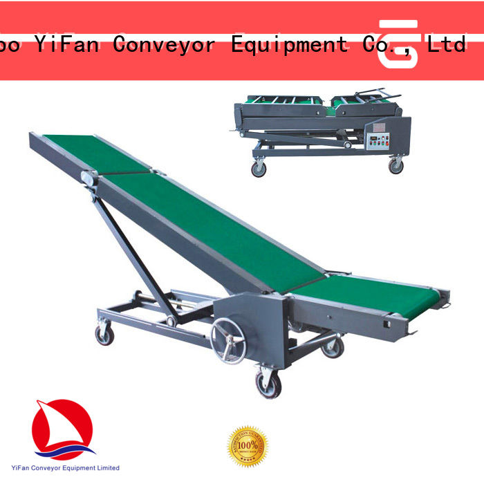 YiFan vehicle truck loading unloading conveyor manufacturer for dock