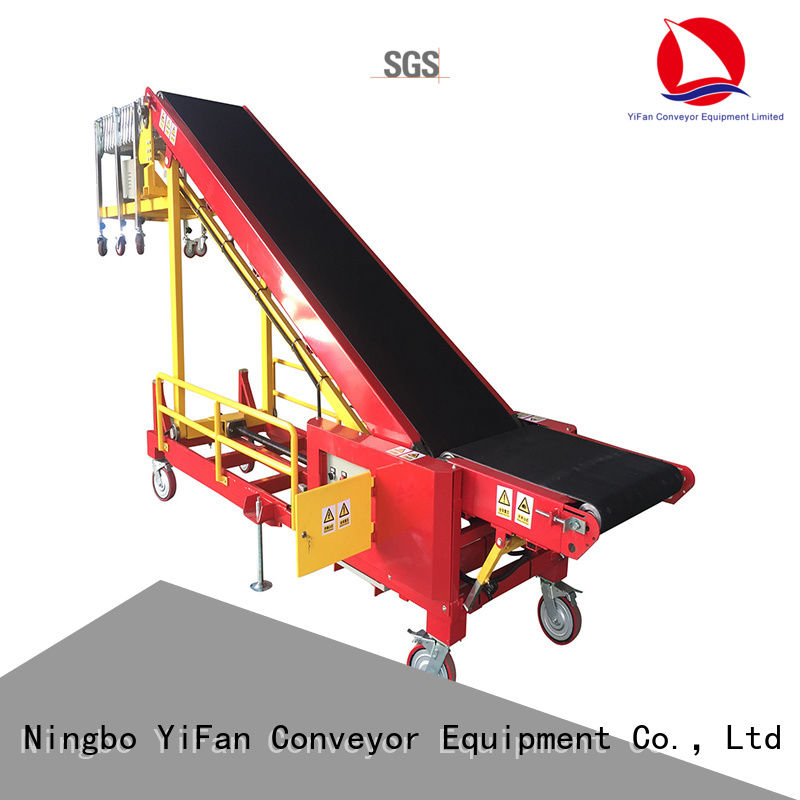 good truck loading belt conveyor foldable China supplier for factory
