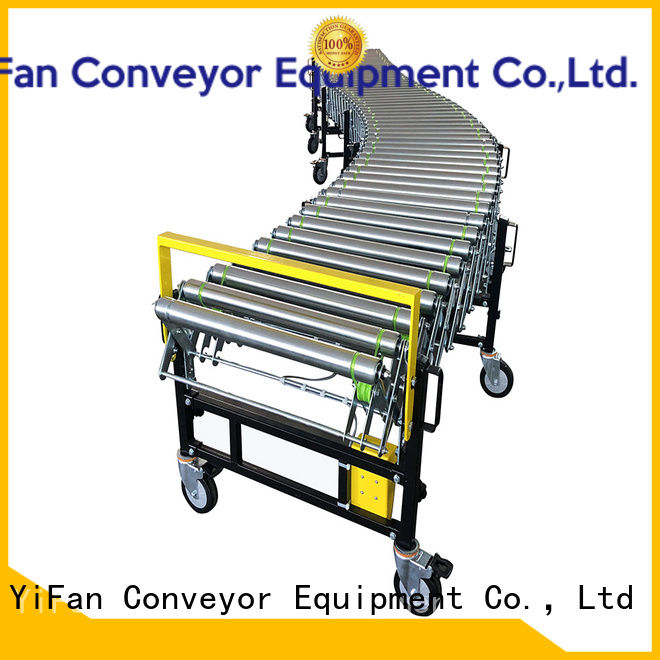 YiFan hot sale powered flexible conveyor inquire now for factory