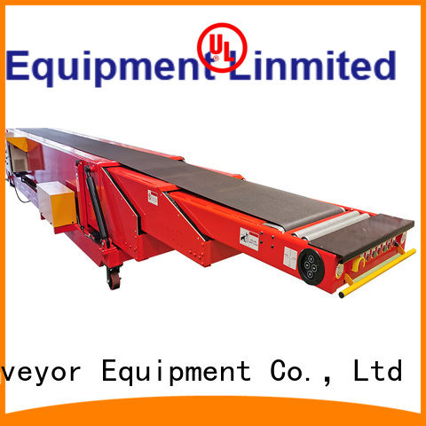 YiFan telescopic conveyor with bottom price for dock
