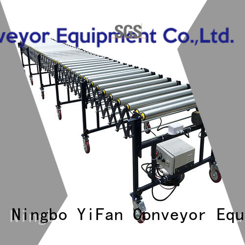 coated flexible roller conveyor inquire now for workshop YiFan