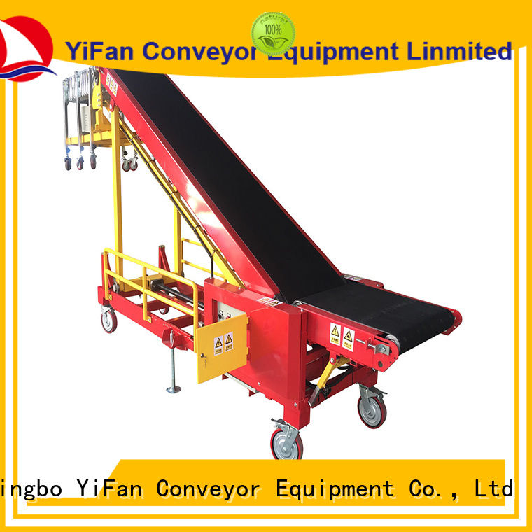 Professional loading conveyor portable manufacturer for airport