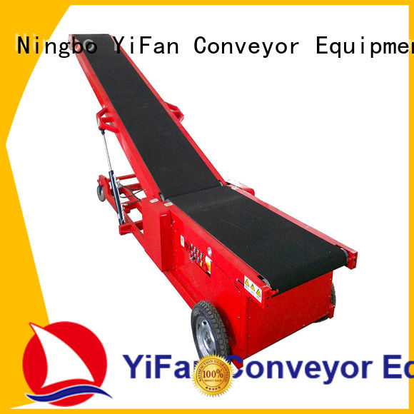 YiFan simple truck unloader conveyor chinese manufacturer for airport