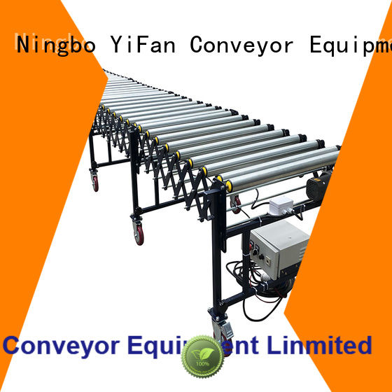 YiFan roller flexible conveyor system inquire now for workshop