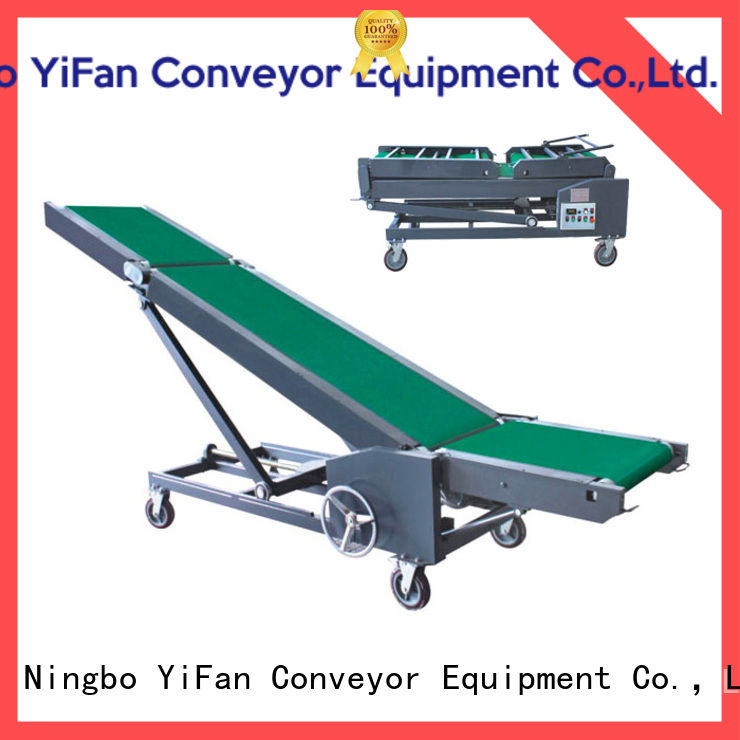 2019 new loading unloading conveyor system container online for factory