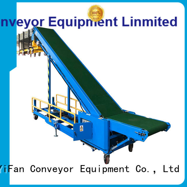 YiFan container loading conveyor manufacturer for warehouse