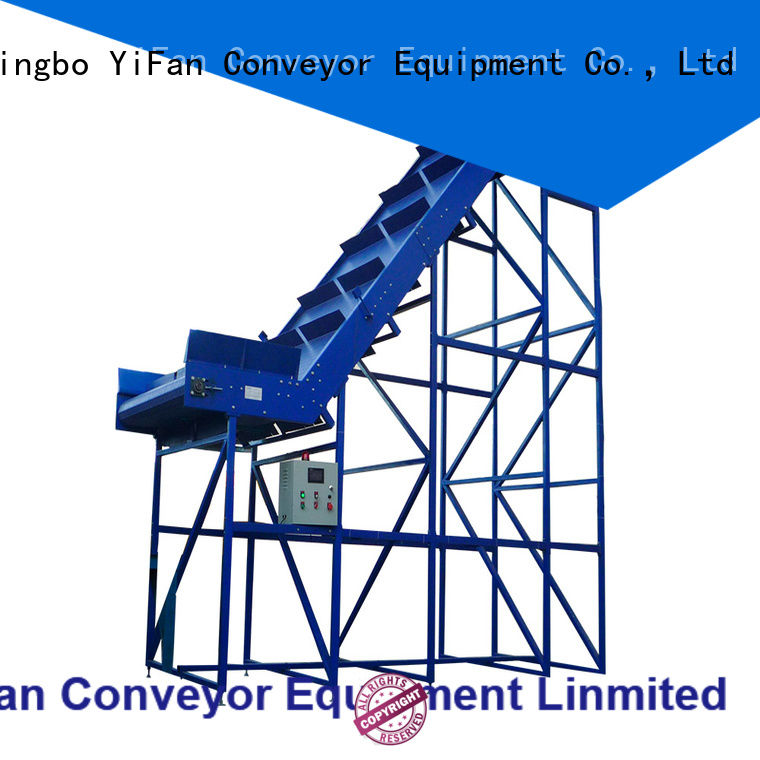YiFan pvc belt conveyor manufacturer with bottom price for packaging machine