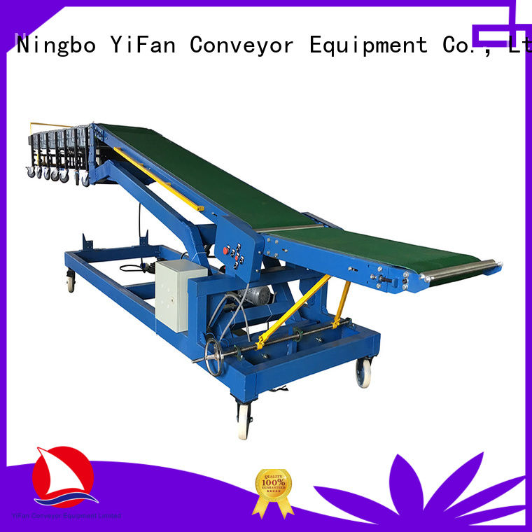 YiFan unloading conveyor truck manufacturer for airport