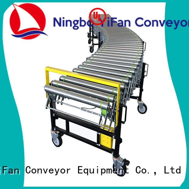 YiFan professional flexible powered roller conveyor manufacturer for workshop