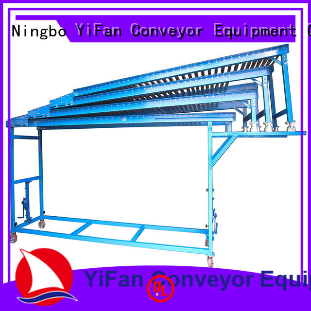 YiFan robust roller conveyor system china manufacturing for grain transportation