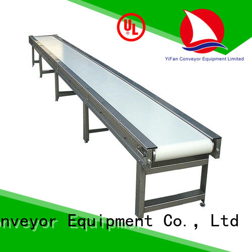most popular belt conveyor inclined with good reputation for daily chemical industry
